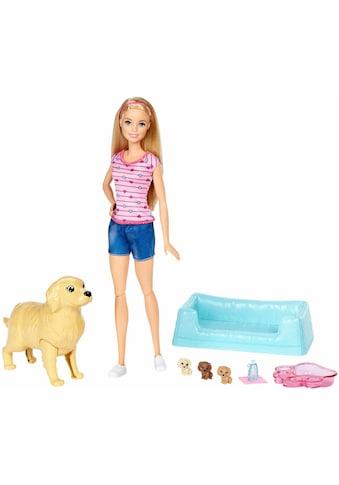 """Mattel® Anziehpuppe """"Barbie mit Hundemama und Welpen"""" kaufen"""
