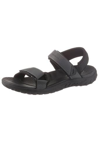 Skechers Sandale, mit praktischen Klettverschlüssen kaufen
