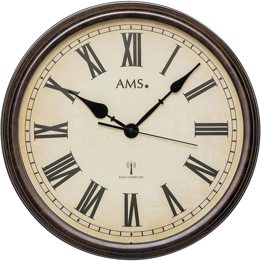 AMS Funkwanduhr »F5977«