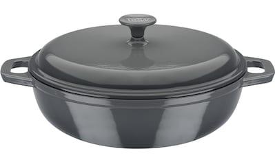 GSW Schmortopf »grey«, Gusseisen, (1 tlg.), Induktion kaufen