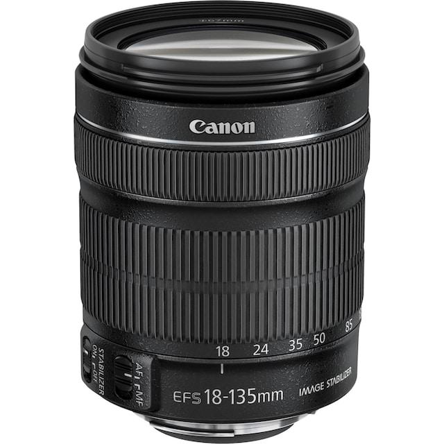 Canon »EOS 2000D EF-S18-135 Kit« Spiegelreflexkamera (EF-S 18-135mm 1:3,5-5,6 IS STM, 24,1 MP, WLAN (Wi-Fi) NFC)
