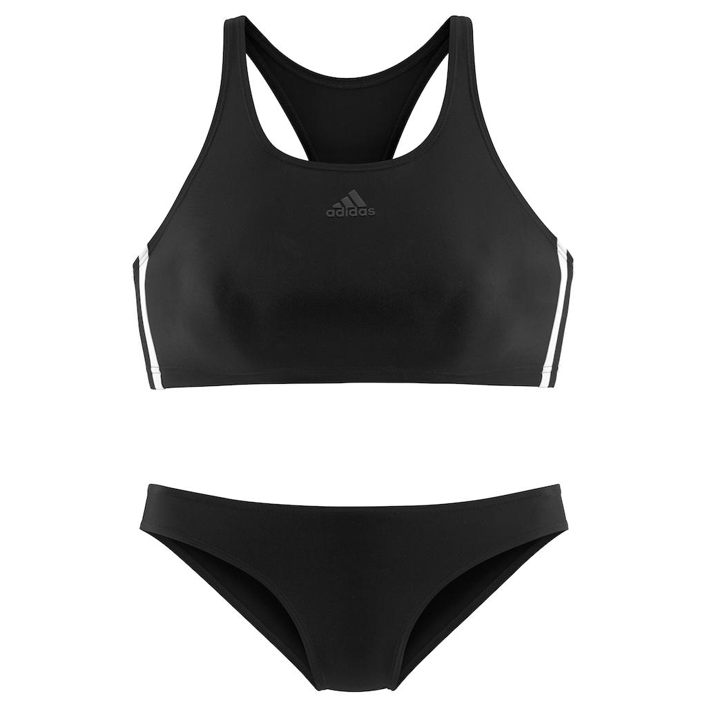 adidas Performance Bustier-Bikini, im sportlichen Design