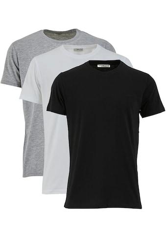 LTB Rundhalsshirt »3 PACK RN MULTI« kaufen