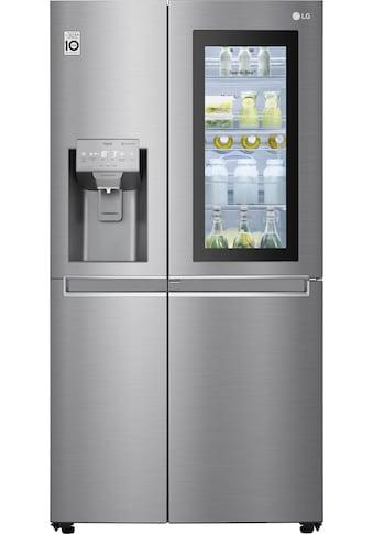 LG Side-by-Side »GSI961PZAZ«, GSI961PZAZ, 179 cm hoch, 91,2 cm breit, InstaView Door-in-Door™ kaufen