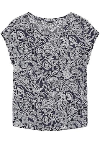 Marc O'Polo T-Shirt, mit modischem Paisley-Design kaufen