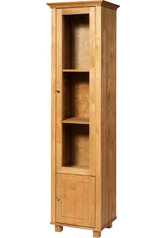 Home affaire Vitrine »Tracy«, aus Kiefer massiv, Höhe 188,5 cm kaufen