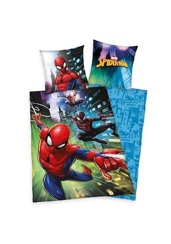 MARVEL Kinderbettwäsche »Spider-Man, Baumwoll-Renforcé« kaufen