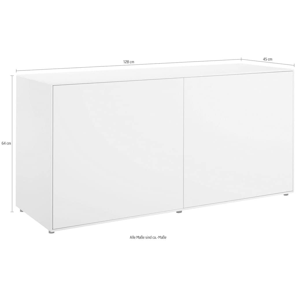 now! by hülsta Sideboard »now! easy«, mit 2 Türen, Breite 128 cm