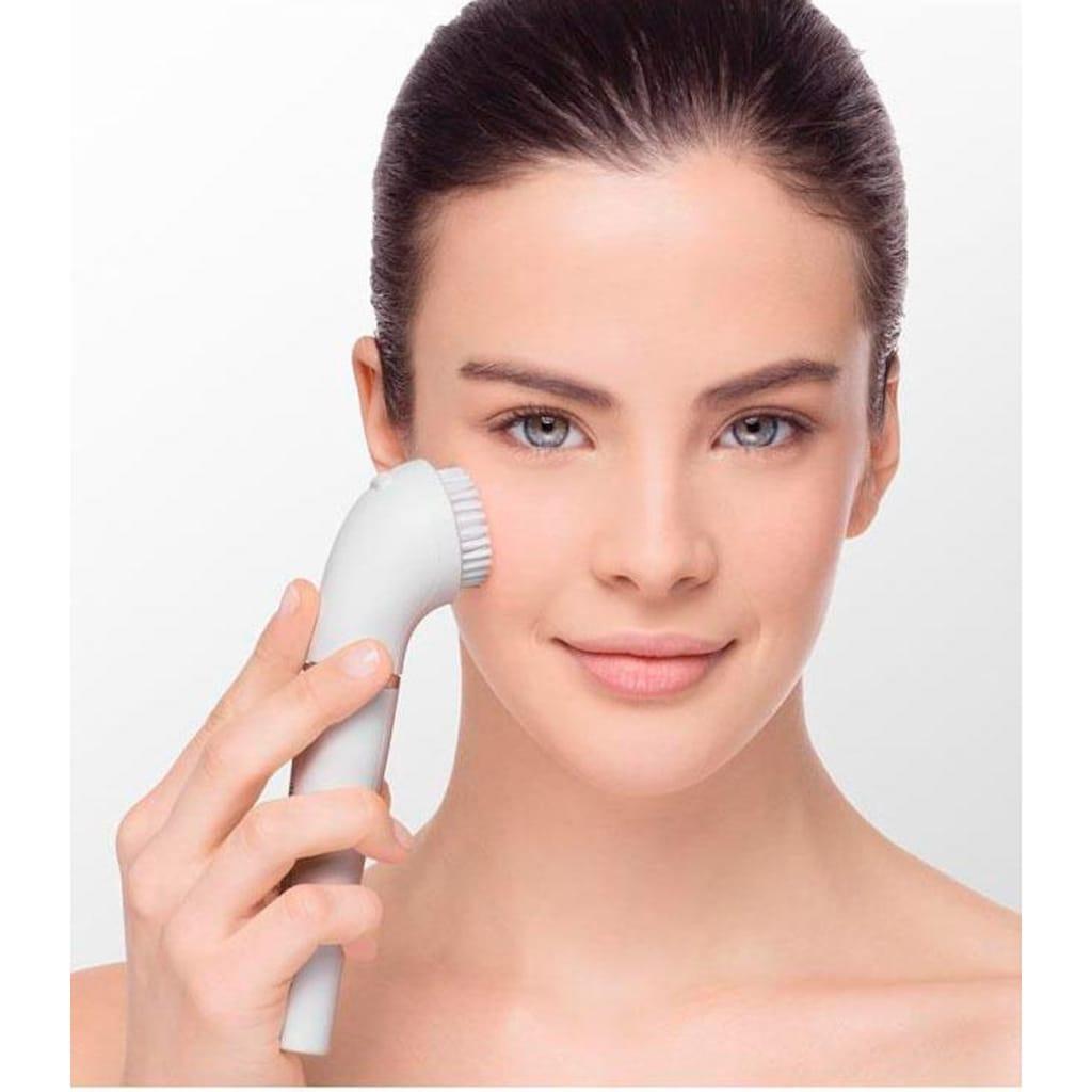 Braun Gesichtsepilierer »FaceSpa 851V 3-in-1«, 3 St. Aufsätze, mit zusätzlicher Batterie