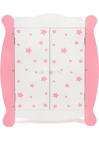 CHIC2000 Puppenkleiderschrank »Stars pink« kaufen