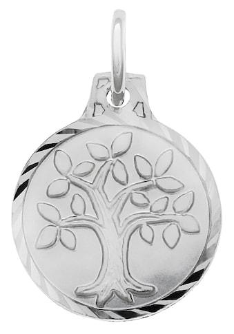 Firetti Kettenanhänger »Lebensbaum, matt und diamantiert, rhodiniert« kaufen