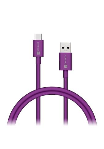 Connect IT USB-Kabel »IT Colour Line Typ C USB 3.0 Kabel 1m Lila«, 100 cm kaufen