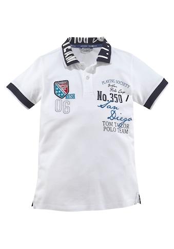 TOM TAILOR Polo Team Poloshirt »Polo Cup« kaufen