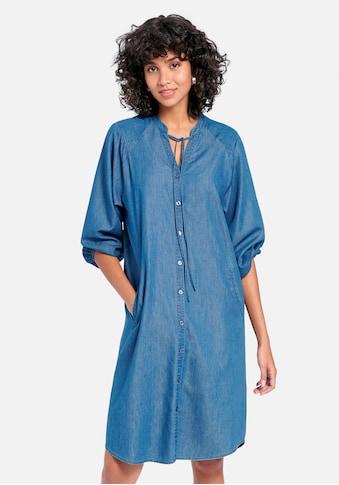 Peter Hahn Abendkleid »Kleid mit 3/4-Arm«, mit Raffungen kaufen