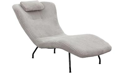 SalesFever Relaxsessel, mit modernem Cord Bezug kaufen