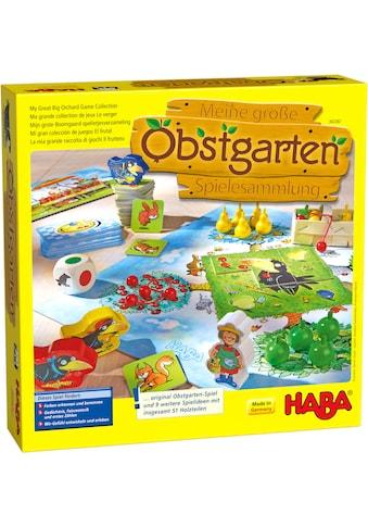 Haba Spielesammlung »Meine große Obstgarten-Spielesammlung«, Made in Germany kaufen