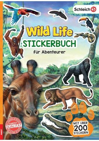 Buch »SCHLEICH® Wild Life(TM) Stickerbuch für Abenteurer / DIVERSE« kaufen
