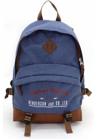 F23™ Laptoprucksack »Henderson & Co 24 L  -  blau meliert« kaufen