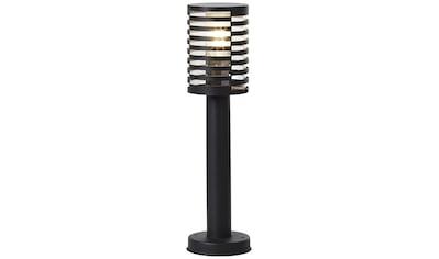 Brilliant Leuchten Außen-Wandleuchte, E27, Venlo Außensockelleuchte 50cm schwarz matt kaufen