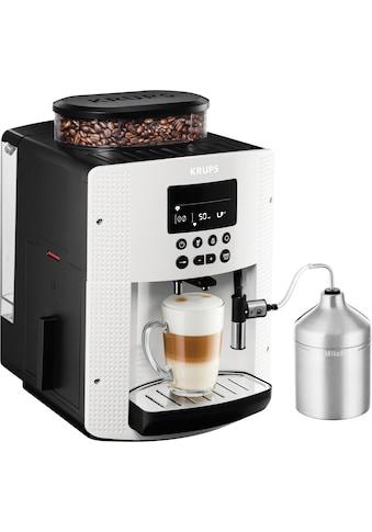 Krups Kaffeevollautomat »EA8161«, inkl. Edelstahl-Milchbehälter kaufen