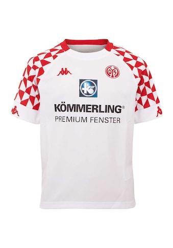 Kappa Fußballtrikot »MAINZ 05 AUSWÄRTSTRIKOT KIDS«, mit Mainzer Stadtwappen im Nacken kaufen