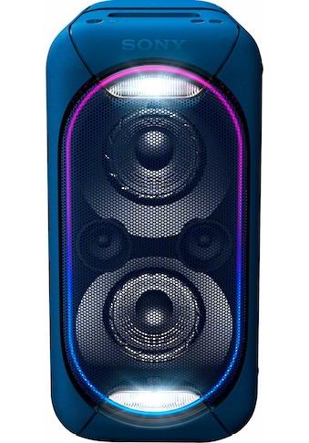 Sony Lautsprechersystem »GTK-XB60«, Wireless Party Chain: XB20 bis XB90 können zu... kaufen