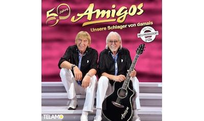 Musik-CD »50 Jahre:Unsere Schlager von damals / Amigos« kaufen