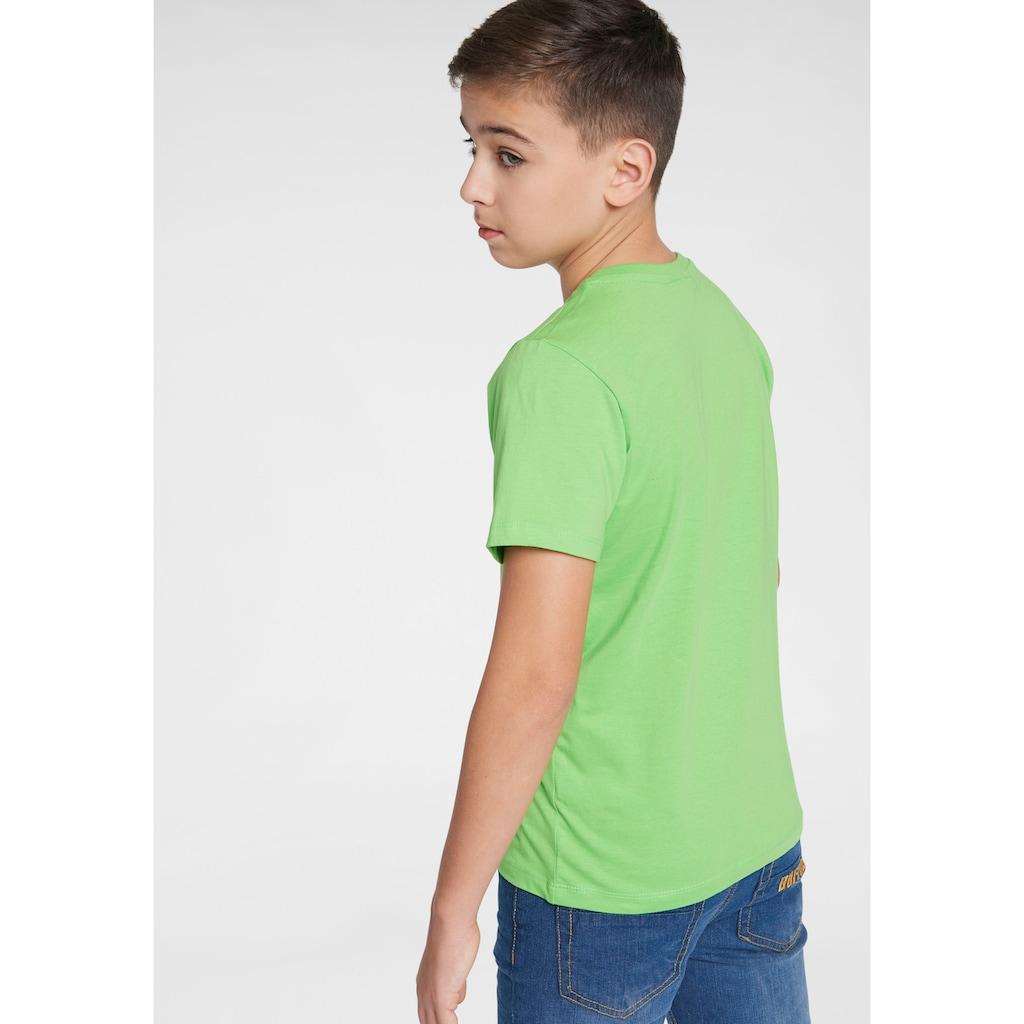 KIDSWORLD T-Shirt »Ich denke bitte warten«, Druck