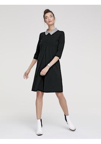 Jerseykleid mit Schmuckelementen kaufen