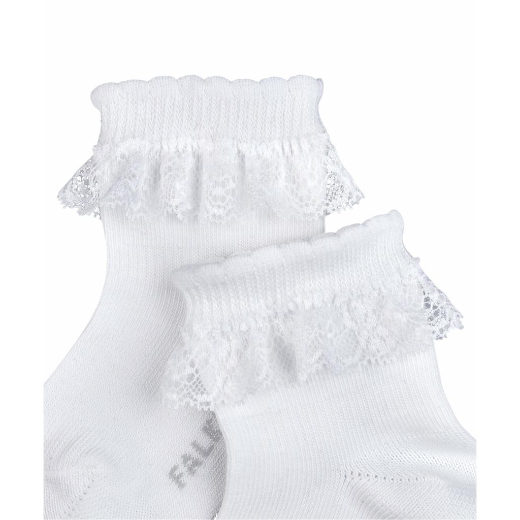FALKE Socken »Romantic Lace«, (1 Paar), mit verstärkten Belastungszonen