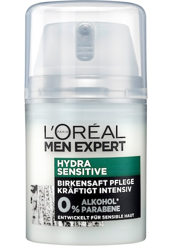 L'ORÉAL PARIS MEN EXPERT Feuchtigkeitscreme »Hydra Sensitive Birkensaft«, für... kaufen