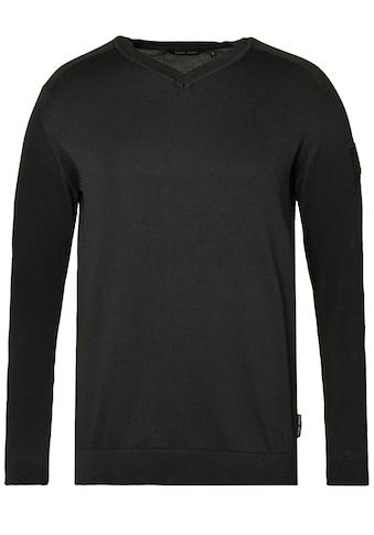 CODE-ZERO Strickpullover »Martingale Pullover«, Logo kaufen