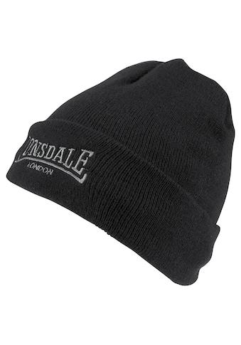 Lonsdale Beanie »HAT DUNDEE«, Innen mit wärmendem Fleece gefüttert kaufen