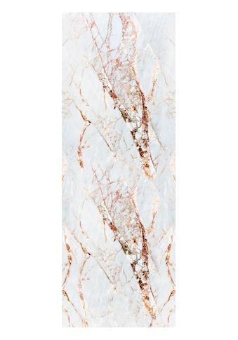 QUEENCE Vinyltapete »Marmor - Weiß«, 90 x 250 cm, selbstklebend kaufen