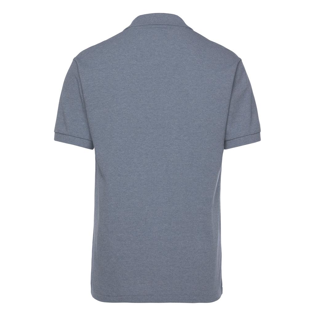 Lacoste Poloshirt, Piqué, melierte Optik