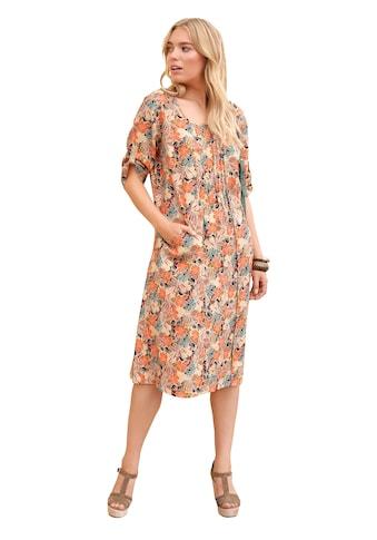 Anna Aura Abendkleid »Kleid mit 3/4-Arm in A-Form aus 100% Leinen«, Biesen kaufen