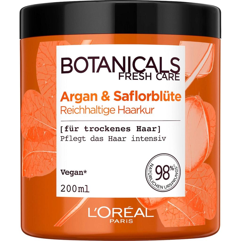 BOTANICALS Haarmaske »Argan und Saflorblüte«, reichhaltig