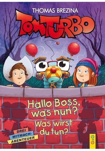 Buch »Tom Turbo: Hallo Boss, was nun? / Pablo Tambuscio, Thomas Brezina« kaufen