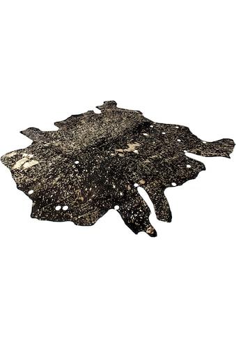 calo-deluxe Fellteppich »Ronda 210«, fellförmig, 8 mm Höhe, echtes Rinderfell, Wohnzimmer kaufen
