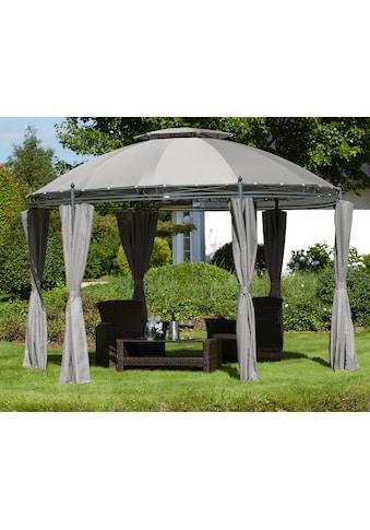 KONIFERA Pavillon mit Seitenteilen »Tino«, BxL: 350 x 350 cm kaufen