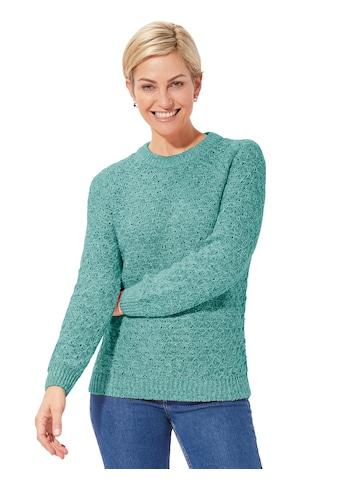 Classic Basics Pullover mit außergewöhnlichem Maschenbild kaufen
