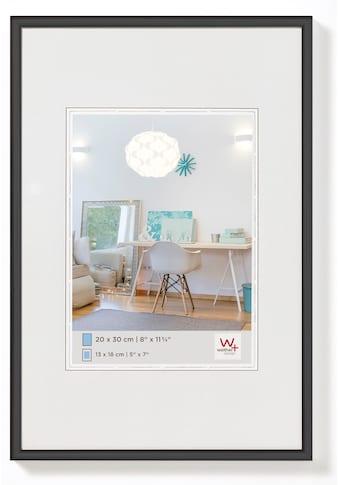 Walther Bilderrahmen »New Lifestyle Kunststoffrahmen 50 x 70 cm, SCHWARZ« (1 St.) kaufen