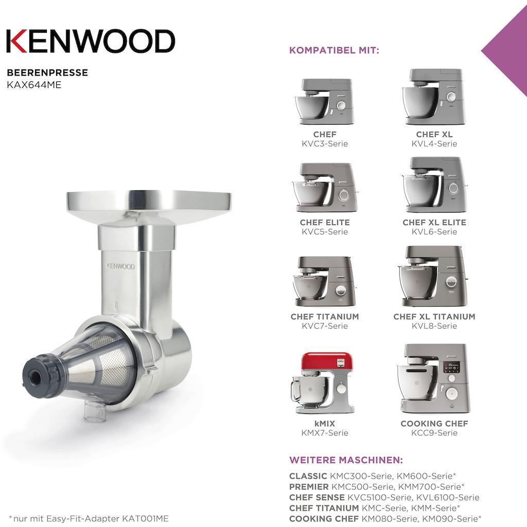 KENWOOD Beerenpressenaufsatz »KAX644ME«