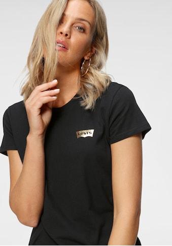 Levi's® Rundhalsshirt »The perfect Tee«, mit Print-Logo auf der Brust kaufen