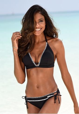 Sunseeker Bikini-Hose »Dainty«, mit Häkelkante und seitlichen Bindebändern kaufen
