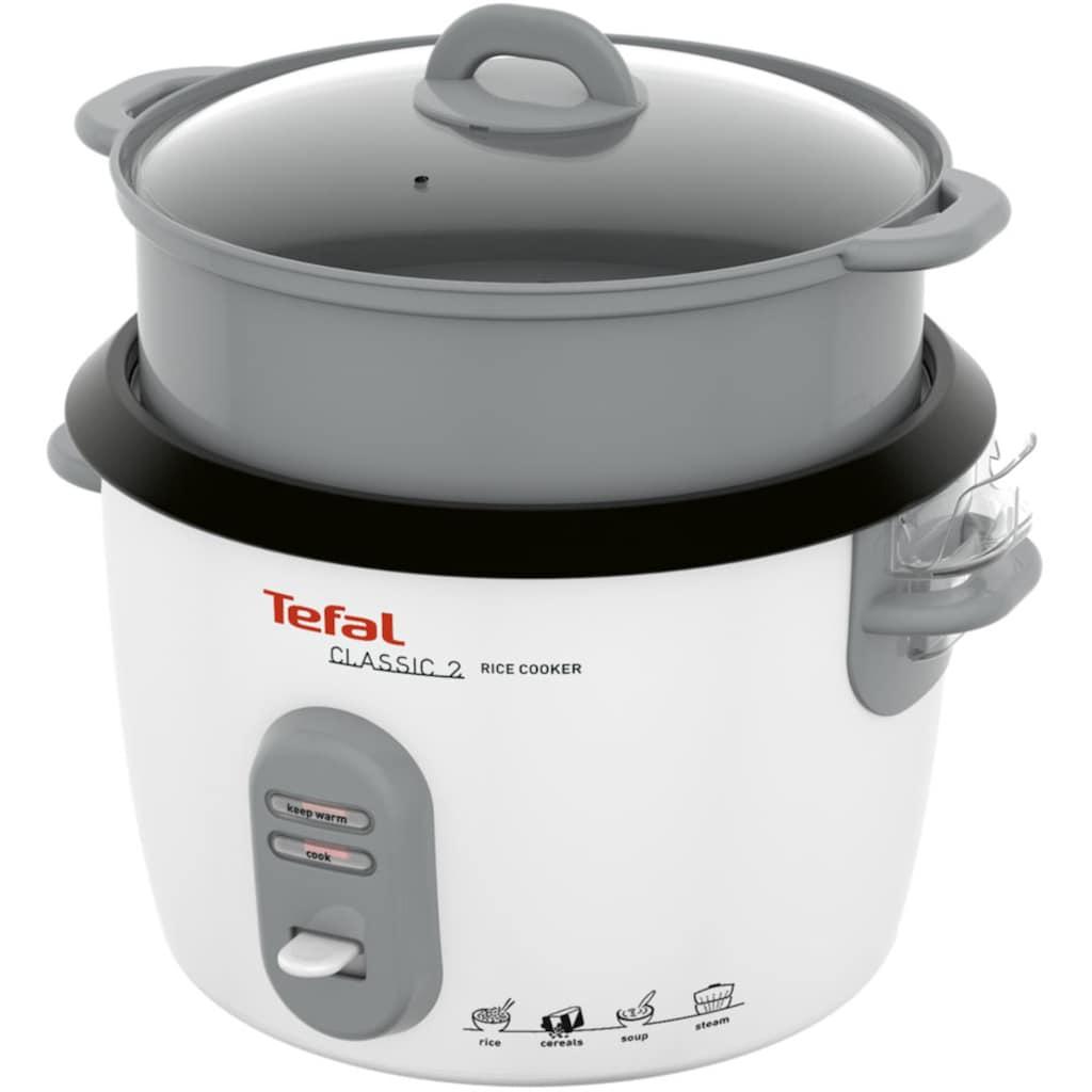 Tefal Reiskocher »RK1011«, 10 Tassen Kapazität (5L); automatische Warmhaltefunktion; Dampfkorb inklusive