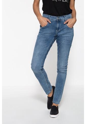 Way of Glory Slim-fit-Jeans, mit leichten Destroyed Effekten kaufen