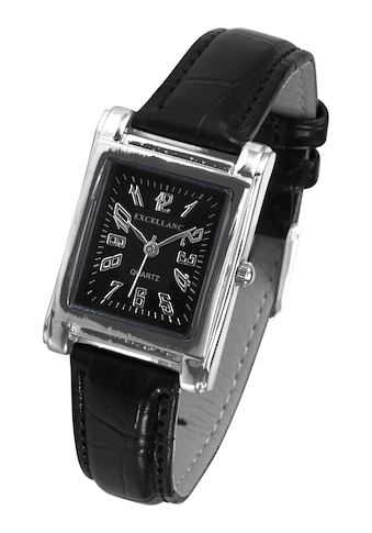 Armbanduhr mit Band in Krokoprägung kaufen