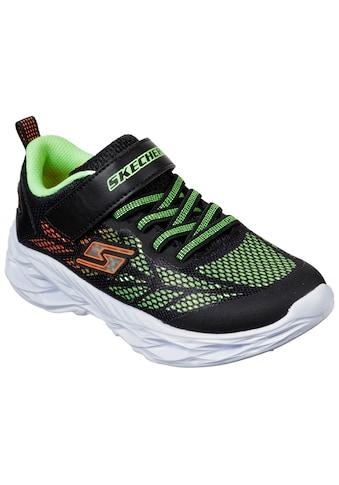 Skechers Kids Sneaker »Blinkschuh Sneaker Vortex-Flash«, mit Klettverschluss kaufen