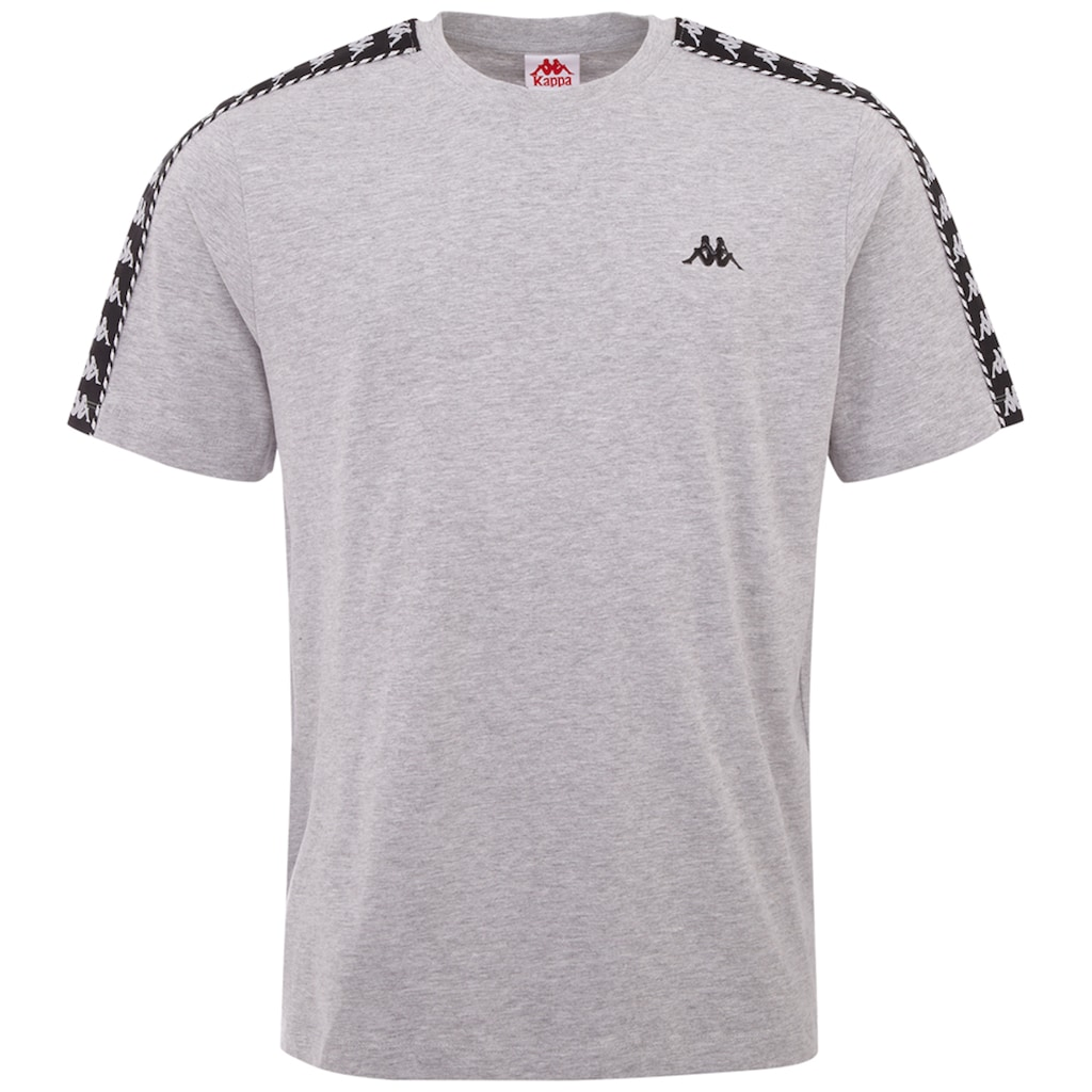 Kappa T-Shirt »ILYAS«, mit hochwertigem Jaquard Logoband an den Schultern<br />